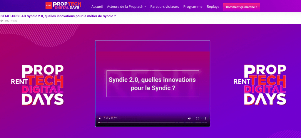 Rent - h2i - immobilier - syndic copropriete - logiciel - conference